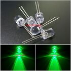 10mm LED Green 520nm  0.5 Watt Wide Angle Bright High Power LEDs 0.5w 50PCS
