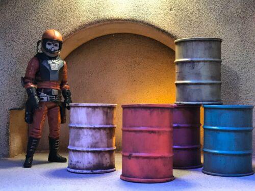 Empire Toy Works 5pc RANDOM COLOR BARREL Accessory Set Star Wars GI Joe 1:18