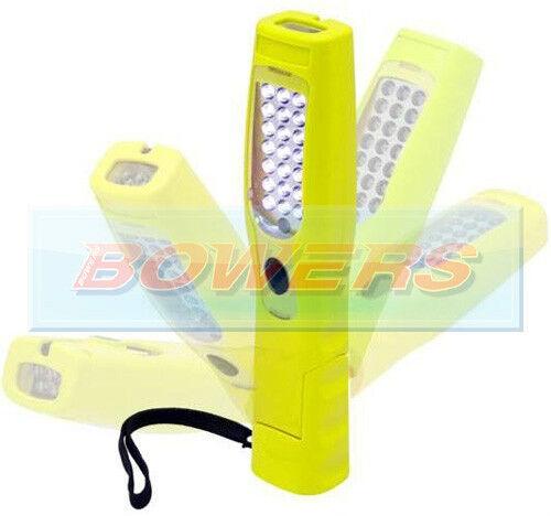 EHL180Y HI-VIZ RECHARGEABLE MAGNETIC LED INSPECTION WORK HAND LAMP LIGHT TORCH