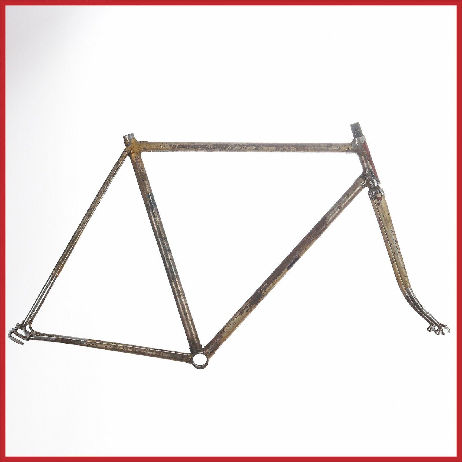 STEEL FRAMESE 40S LIPLEX TOUR DE FRANKRIKE FRAM EROICA LUGS ROD Cykel FRAM
