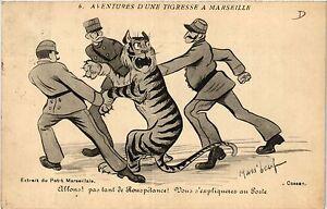 Cpa Aventures D'une Tigresse A Marseille 6 Allons! (403585) 2q5a1z0l-07215446-297770440