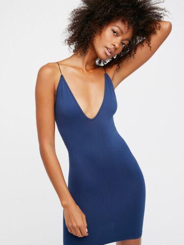 New Free People Womens Seamless High Platform Mini Slip Bodycon Dress $30