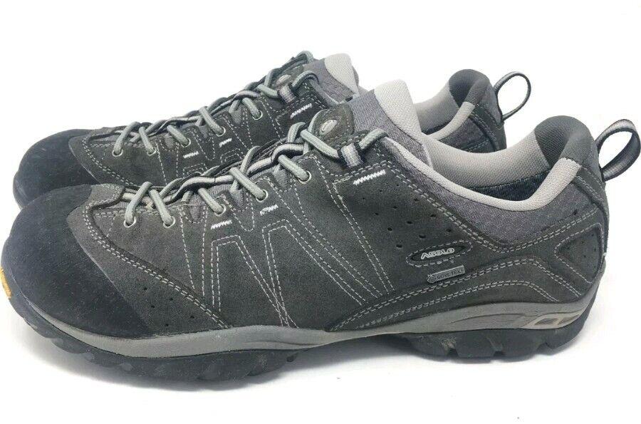 Asolo agente gv Evo Gore Tex Impermeable Senderismo Zapatos Tenis Para Hombre M gris