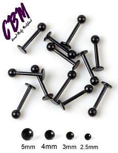 16g-Black-Anodized-Labret-Lip-Monroe-Tragus-Ring-Stud-Medusa-Piercing