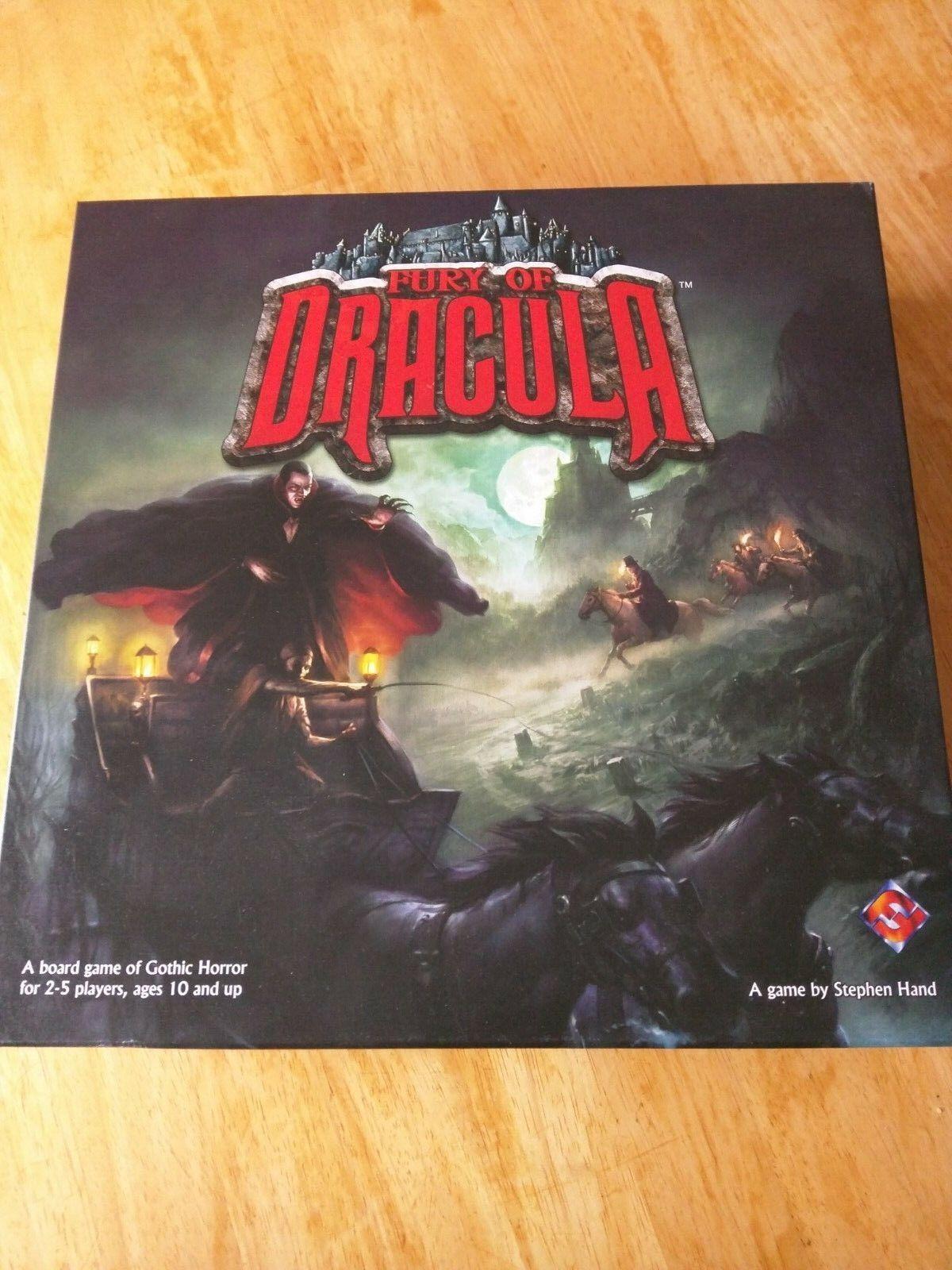 Fantasy flight wut dracula - 2nd edition brettspiel gemalt