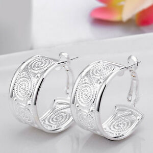 New Offer Is Not Eligible For Our Promo Codes Or Other Discounts 1 Materials Real 925 Sterling Silver Not Plated 2 Earrings Width 085 Cm 033 Inches,Net Weight 24g 3 Design Pink Rose Design, Full Love And Happiness When Received