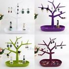 Necklace Ring Earring Tree Stand Xmas Display Jewelry Organizer Holder Show Rack