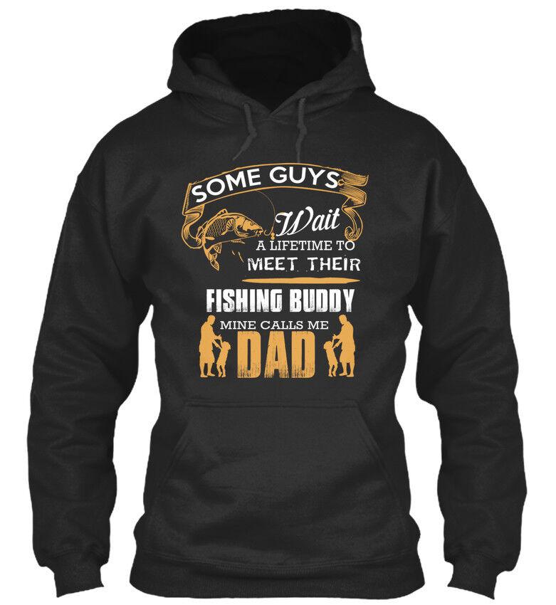 Some Guys Guys Guys Wait Fishing Buddy - A Lifetime To Meet Their Standard College Hoodie   Angemessene Lieferung und pünktliche Lieferung    Eleganter Stil  2999ca