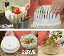 60 Seconds Salad Maker Healthy Fresh Salads Made Easy Salad Cutter Bowl Premium
