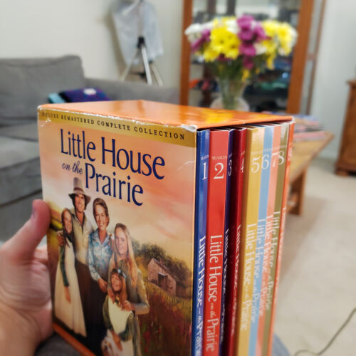 Little House On The Prairie The Complete Collection Dvd 2018 48 Disc Set Deluxe Remastered Edition For Sale Online Ebay