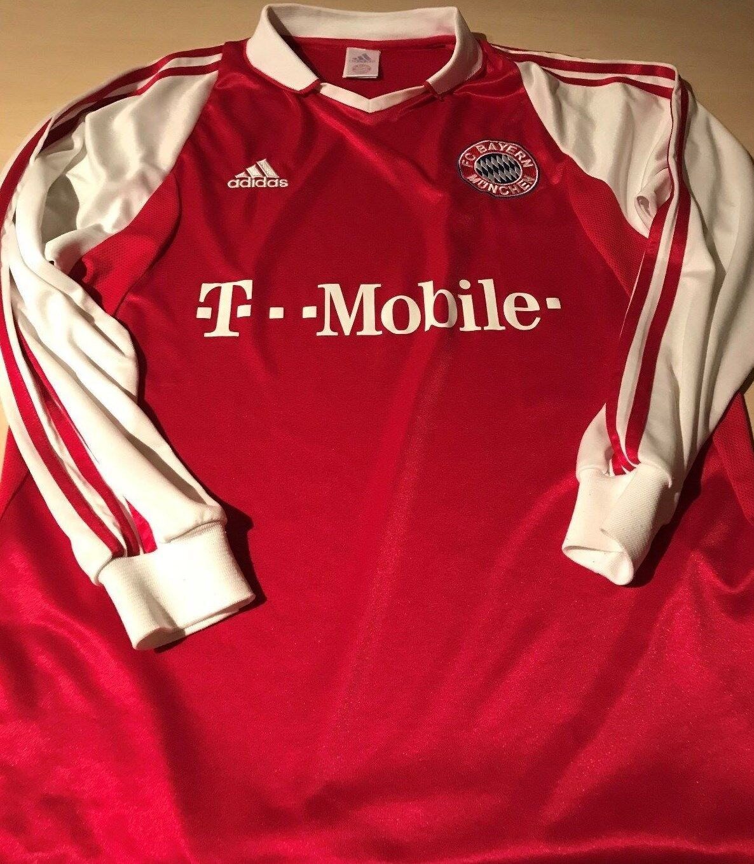FC Bayern München Langarm Trikot 2003/2004   2003/2004 Gr.M   TR143 7a9f82