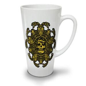 Skull Mandala NEW White Tea Coffee Latte Mug 12 17 oz | Wellcoda