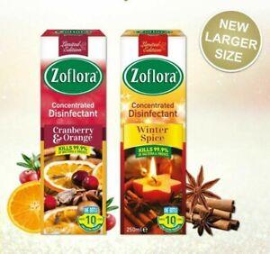 2-X-Zoflora-Disinfectant-Winter-Assortment-250ml-Cranberry-amp-Orange-Winter-Spice
