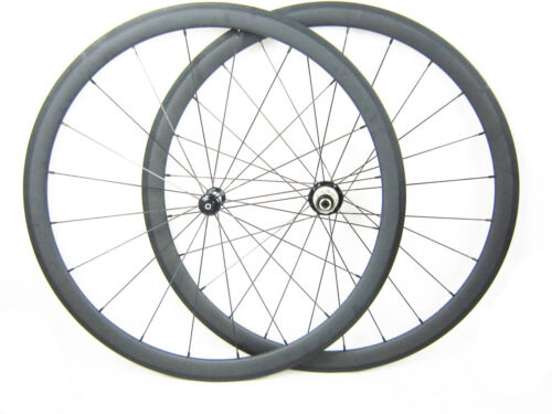 Straight Pull Carbon Wheels 25mm width 38mm depth Tubular Road Bike Wheels 700C