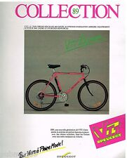Publicité Advertising 1989 Le Velo VTT 3 Z Top Peugeot