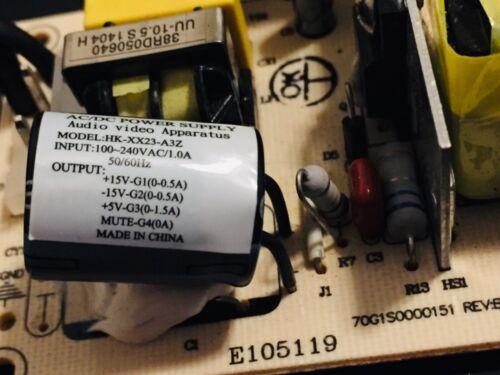 15v 500mA Tripple output Switching Power Supply 5v 1.5A 15v 500mA