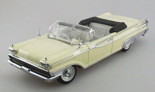 MERCURY PARK LANE OPEN CONgreenIBLE MADEIRA YELLOW 1959 SUNSTAR SUNSTAR SUNSTAR 5152 1 18 1 18 8ad0ad