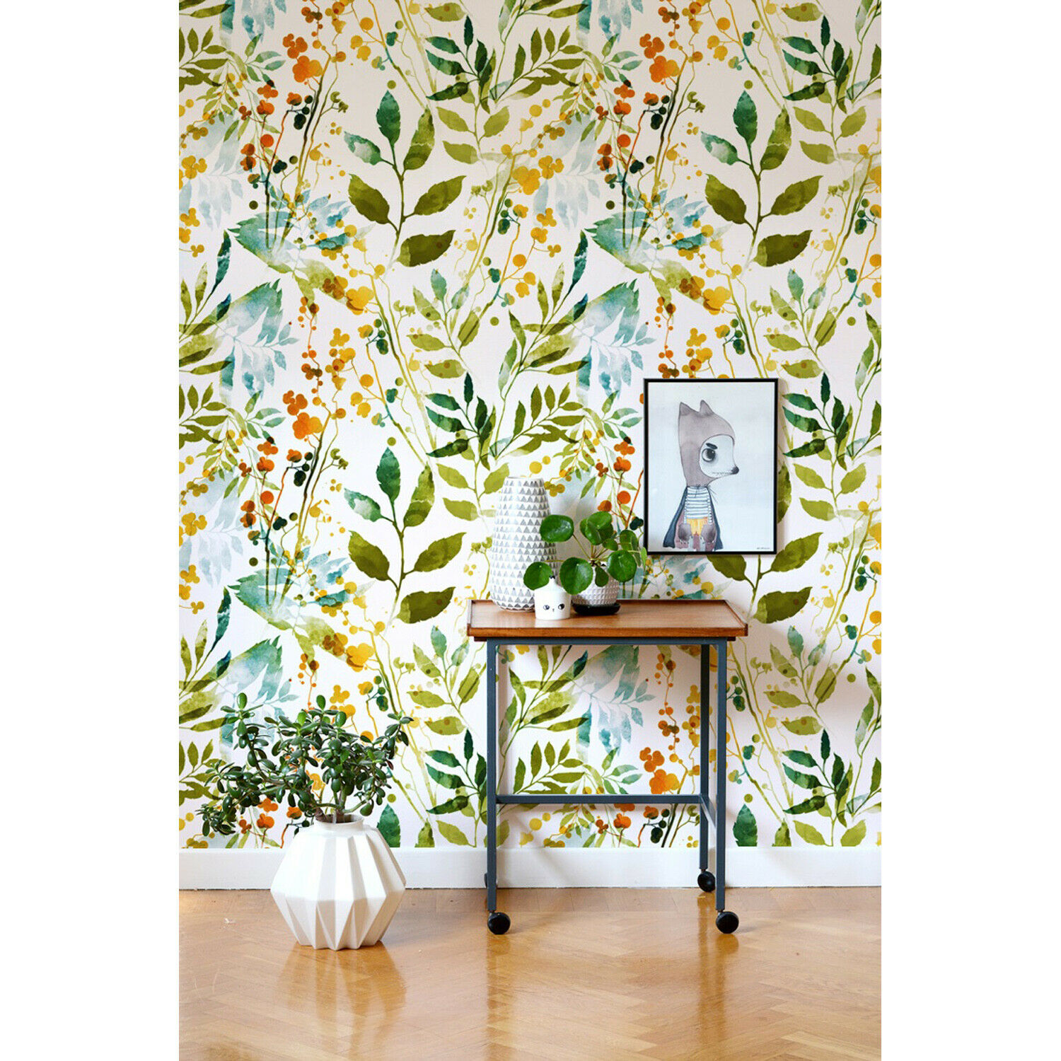 Boho Spring Removable Removable Removable Floral Painting
