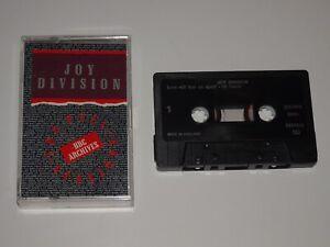 JOY DIVISION THE PEEL SESSIONS BBC ARCHIVES 1990 CASSETTE TAPE SFPS 033 4