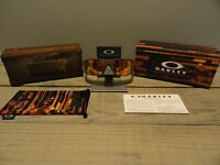 Oakley Limited Edition Fallout Fuel Cell Rust Decay Fire Iridium Polarized