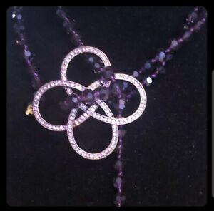 Heidi-Daus-034-Never-Ending-Elegance-034-48-034-Violet-Beaded-Lariat-Necklace-Lovely