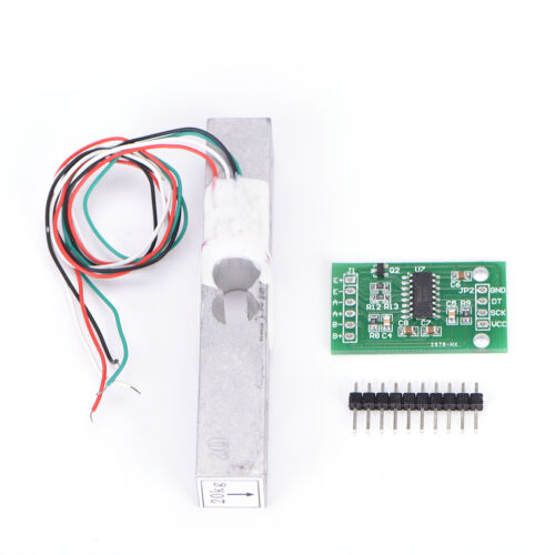 Load Cell Weight Sensor 20KG Portable Scale+HX711 Weighing Sensors Ad ModuleSN