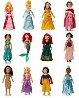 Disneystore Princesses Medium Plush Soft Doll Belle Jasmine Ariel Mulan 21