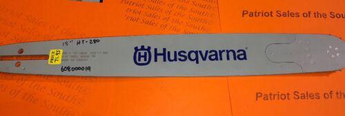 "3//8/"" Husqvarna Part # 608000019 18/"" Guide Bar 68 Drive Links .050/"" HT280-68"