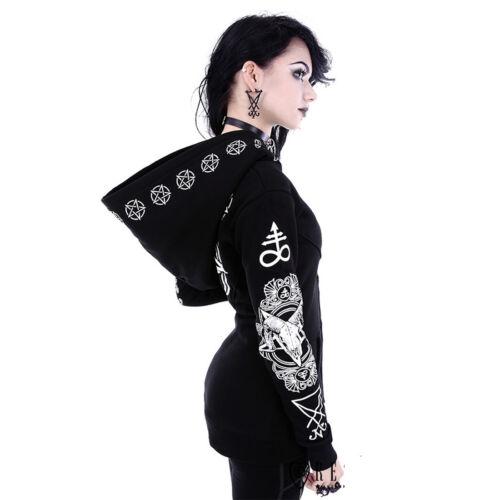 Restyle Pentagram Sudadera Blusa and Skull Ritual Ram de RRwHvx0