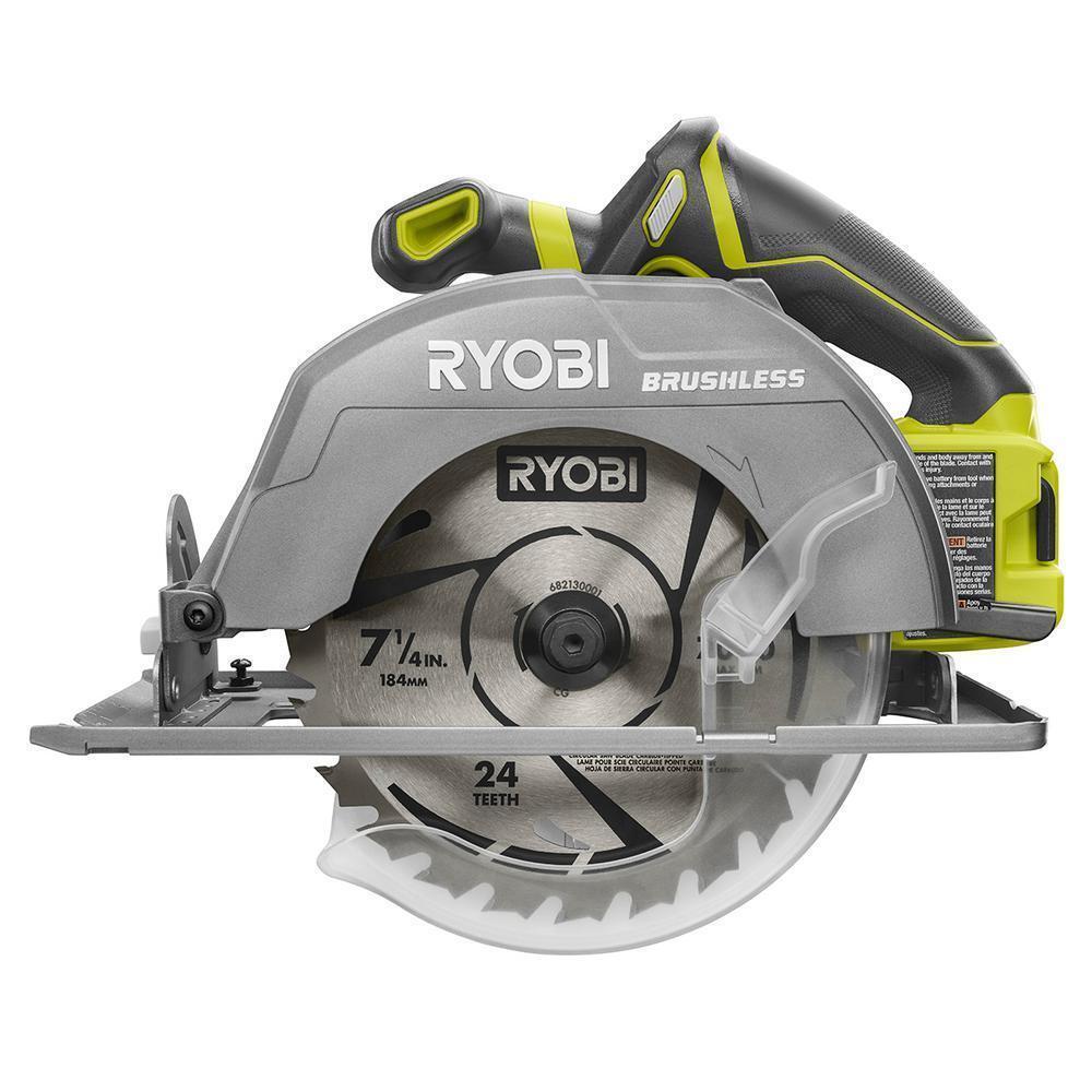 NEW RYOBI P508 18V BRUSHLESS CORDLESS 7-1/4
