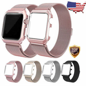 For-Apple-Watch-Series-3-2-1-Milanese-Stainless-Steel-Watch-Band-Strap-38mm-42mm
