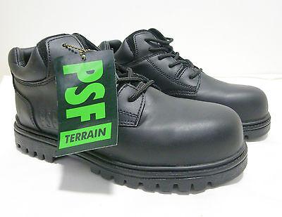 PSF Cuero Baja De Seguridad Botas/Zapatos Puntera protección amplia Fit 801NMT C4 LH20