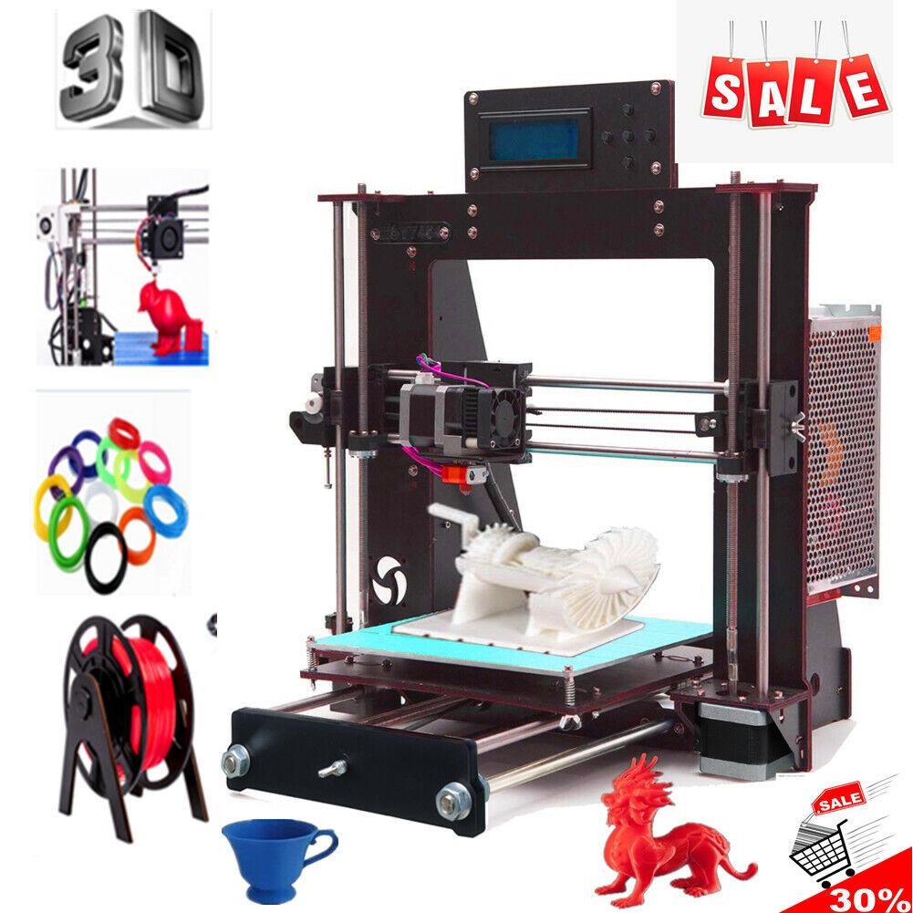 2021 NEW 3D Printer CTC i3 Reprap MK8 DIY Kit MK2A Heatbed LCD Controller