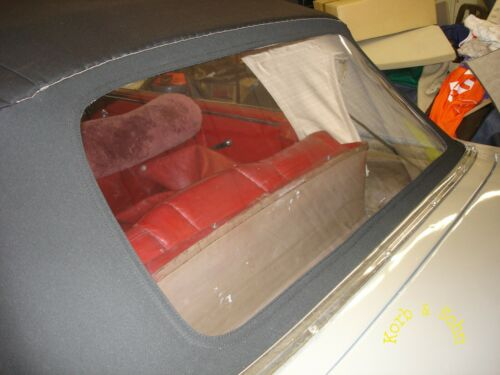 Convertible capota rep set PVC disco fisura o corte luneta trasera kaltschweissen