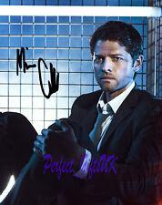 Misha Collins Supernatural TV Series SIGNED AUTOGRAPHED 10X8 PRE-PRINT PHOTO