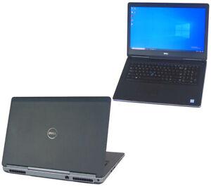 Dell-Laptop-Precision-7710-Xeon-E3-V5-2-90GHz-32GB-Ram-512GB-NVIDIA-M4000M-FHD