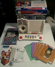 1992 V-Tech Baseball Wizard Trivia Complete With Expansion Pack-Tested Works