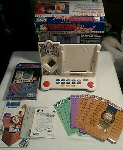 1992-V-Tech-Baseball-Wizard-Trivia-Complete-With-Expansion-Pack-Tested-Works