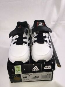 NIB-ADIDAS-Rapidarun-Star-Wars-Todlers-Shoes-Core-Black-Cloud-White-Scarlet-Size