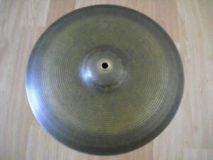 """14"""" Vintage 60 S Pré Série Paiste Formula 602 Hi Hat Charleston Cymbale 830 G-afficher Le Titre D'origine"""