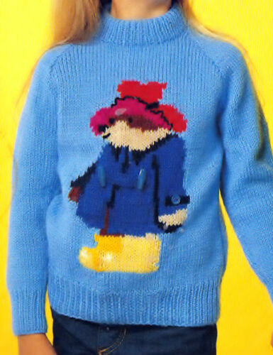 transporte Thomas Vintage de tejer patrones Chompas Cardigans Caballos Sonic