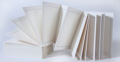 III-W 20 Seiten Leporello 15x20 dünner silberner Rahmen weiss
