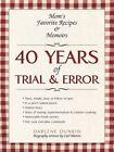 40 Years of Trial & Error 9781440127946 by Darlene Dunkin Paperback