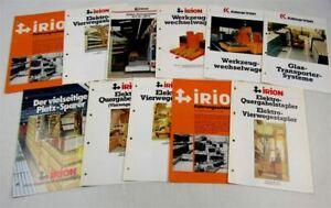 11-Prospekte-Kalmar-Irion-Gabelstapler-Elektro-Quer-ca-70-80er-Jahre