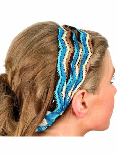 Blue and Brown Ombre Head Band
