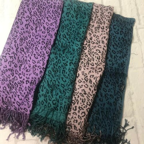 Brand New Light Weight Spring Summer Scarf Animal Print Available in 3 Colours