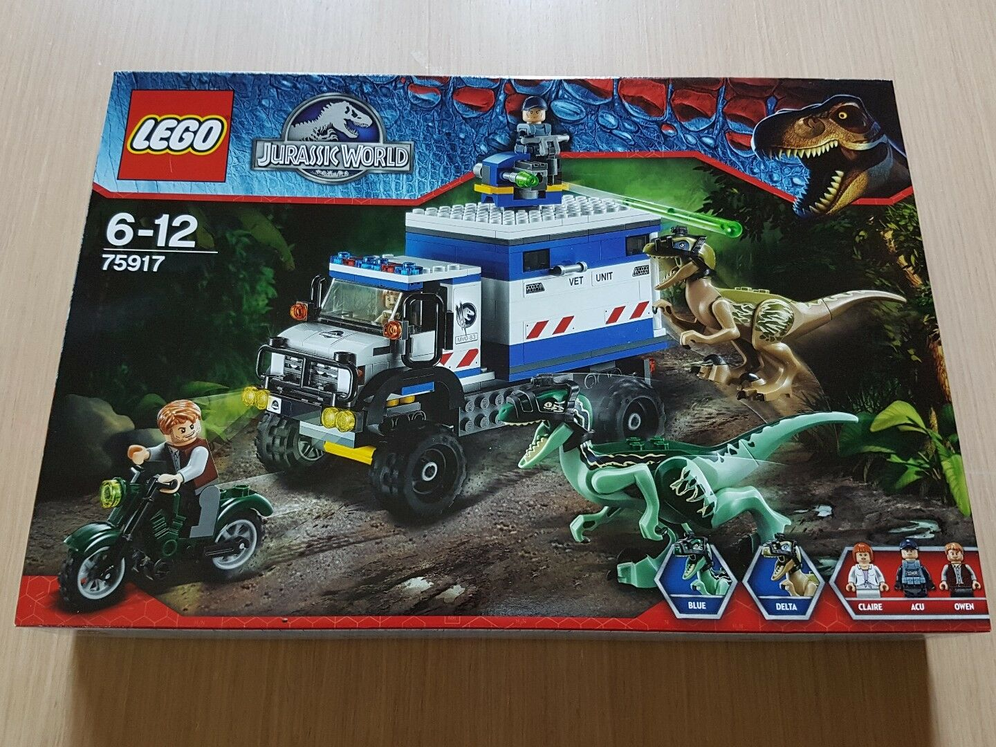 Lego 75917 Jurassic world R. RAMPAGE . New