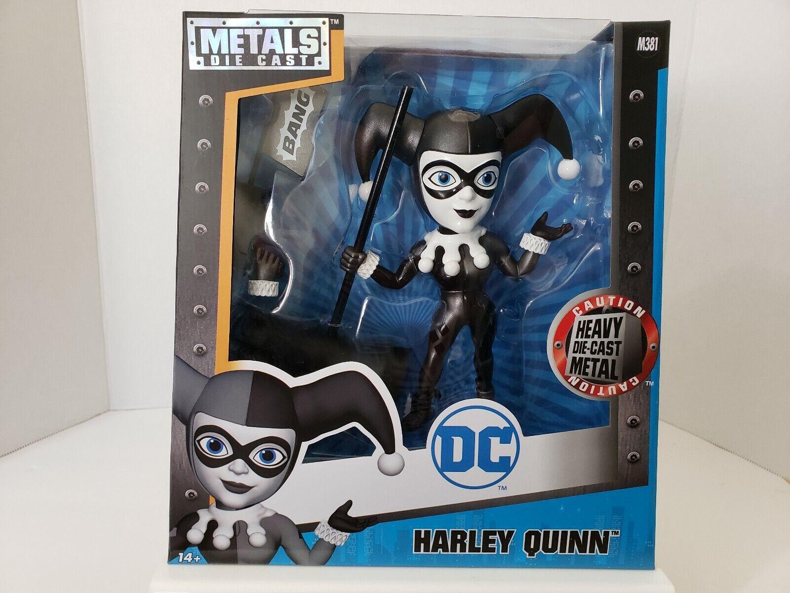 Jada  Harley  Quinn Heavy Diecast  Metals DC Comics  Suicide Squad  M381