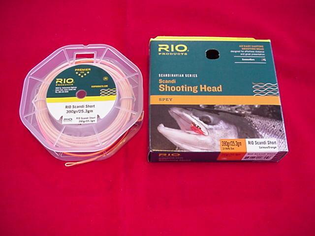Rio Steelhead Scandi Shooting Head Fly Line 390 Grain 31ft GREAT NEW