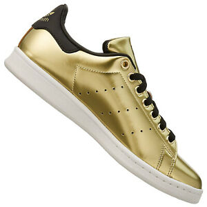 Details zu adidas Originals Stan Smith Damen Sneaker Turnschuhe BZ0405 Gold Spezial Edition
